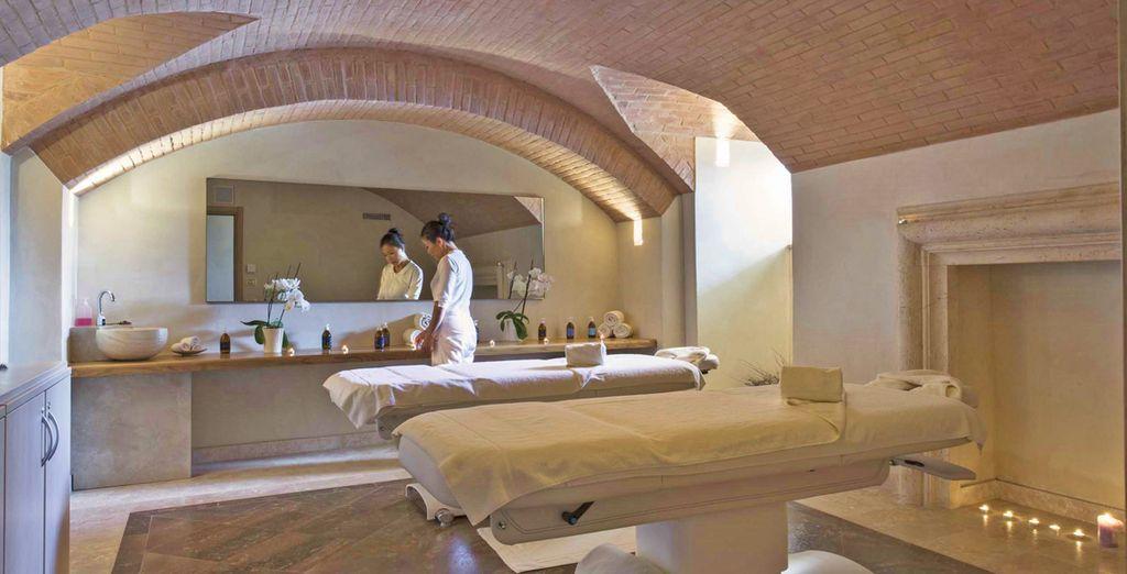 e il centro benessere nel quale potrete rilassarvi con un massaggio