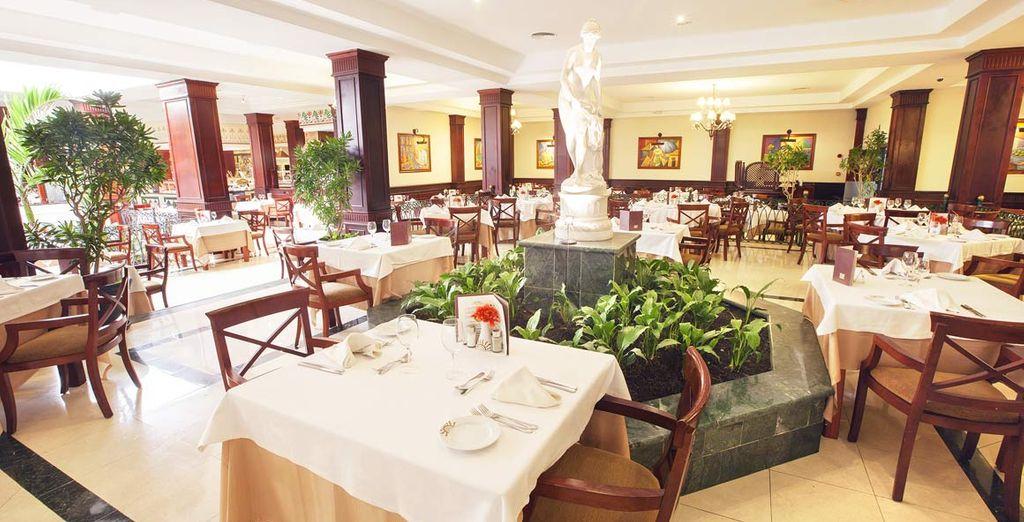 Numerosi ristoranti vi attendono