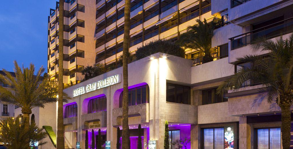Il raffinato hotel Gray d'Albion 4* vi attende