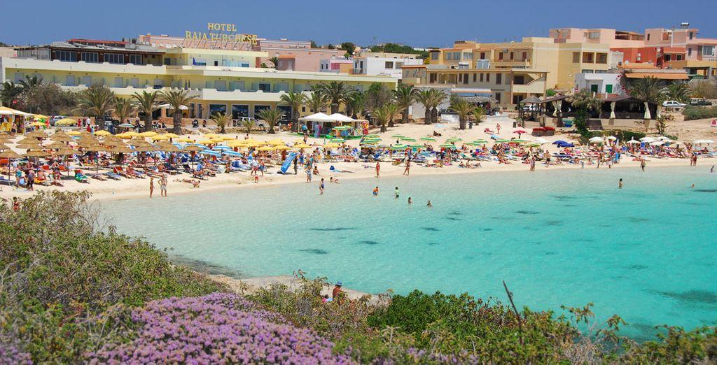 L'hotel è perfetto per una vacanza di sole e mare