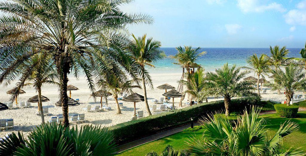 A vostra disposizione una meravigliosa spiaggia privata