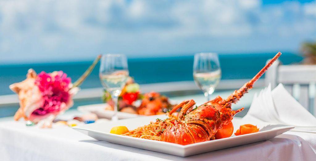 Troverete uno chef italiano che saprà deliziarvi e accontentare le vostre richieste