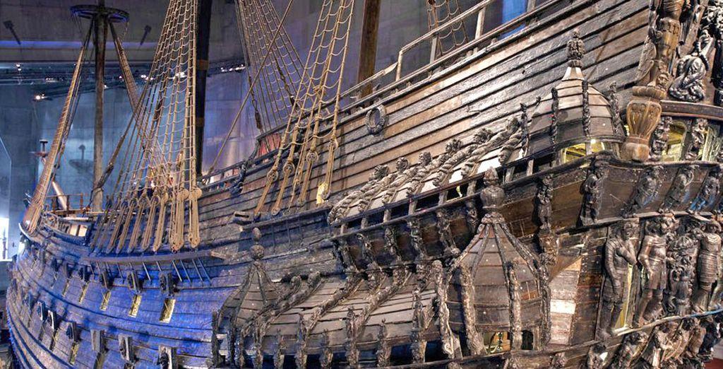 Il Vasa Museum, unico nel suo genere