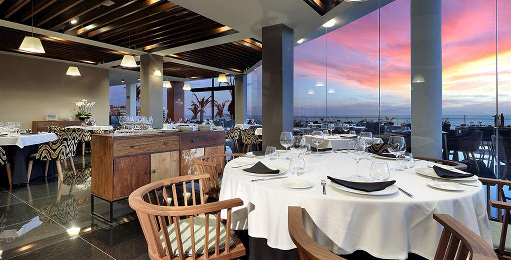 La vasta selezione di ristoranti vi permetterà di vivere un'esperienza gastronomica unica