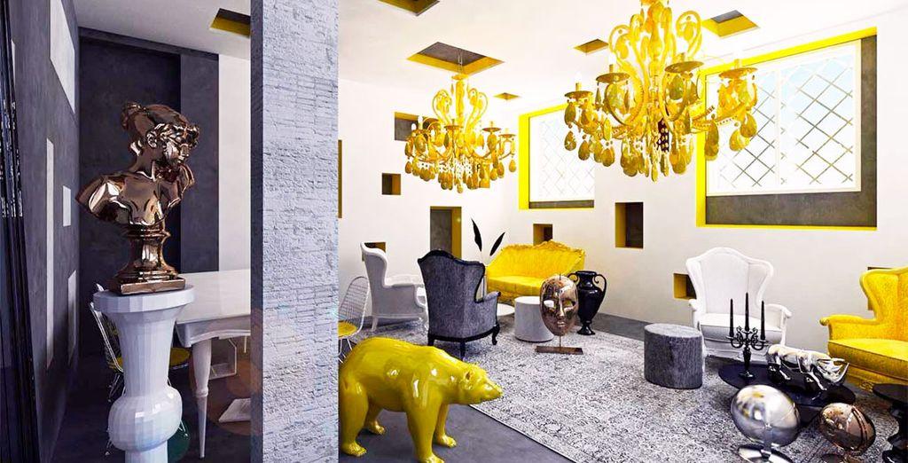 A Madrid vi aspetta un soggiorno di design