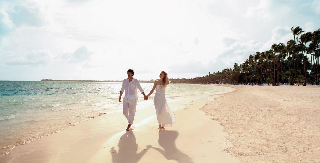 La bellezza della loro sabbia bianca vi farà innamorare