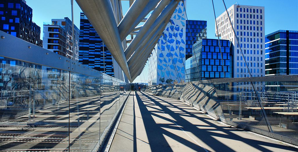 Un perfetto connubio tra architettura moderna e stile antico