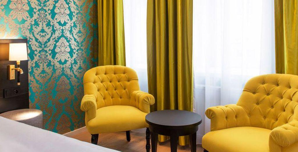 Durante il vostro soggiorno potrete soggiornare in hotel accuratamente selezionati
