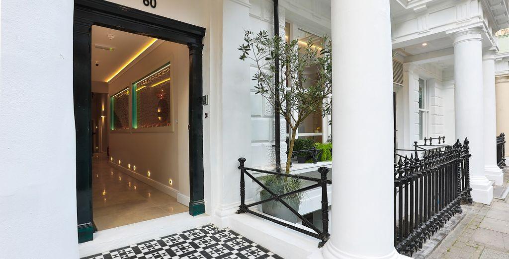 Il J Hotel London è pronto ad accogliervi