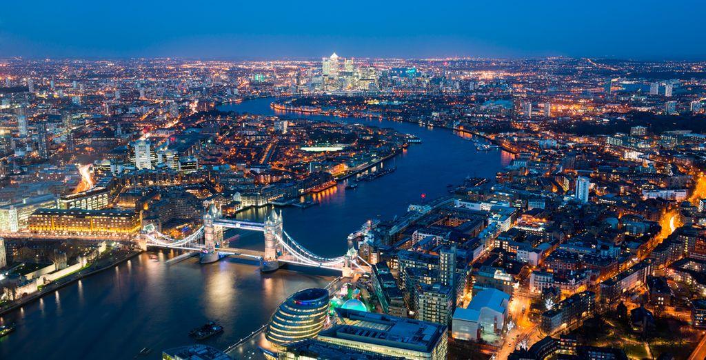 ed ammirate tutto il fascino che solo Londra sarà in grado di trasmettervi.