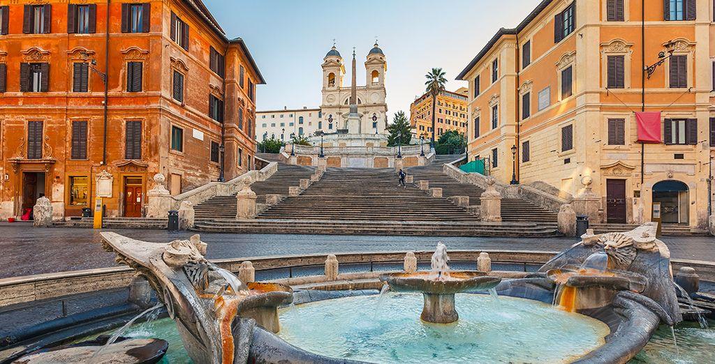 Partite alla scoperta di Roma
