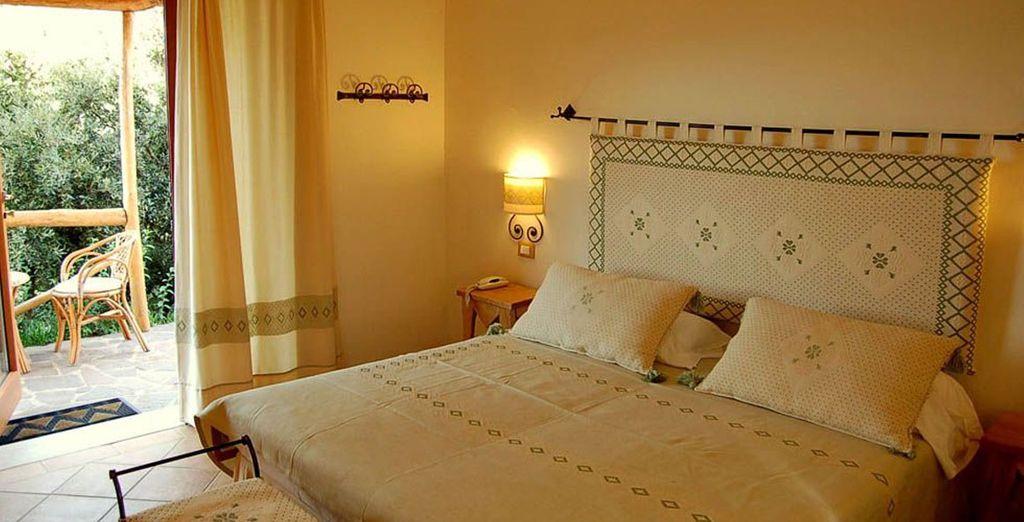 Soggiornerete in camere Classic, deliziose ed accoglienti