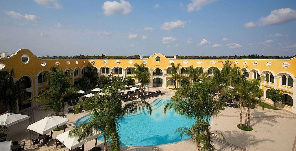 L'Acaya Golf Resort & Spa 4* vi accoglie