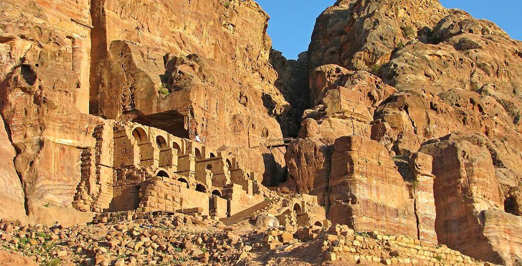 Meravigliosa vestigia del passato ricca di templi antichi