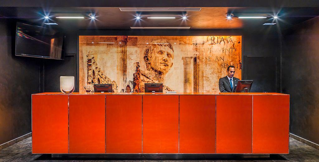 H10 Roma Città 4* vi accoglie