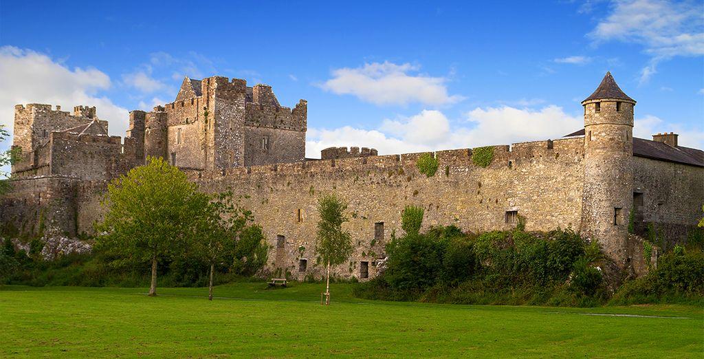 Castelli e storia irlandese