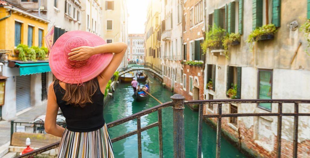 Gita in barca sui canali di Venezia