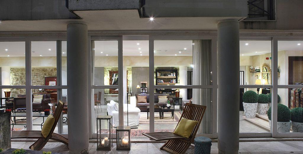 Hotel di lusso a Lisbona, in Portogallo, con area lounge e relax, vicino a tutte le attività