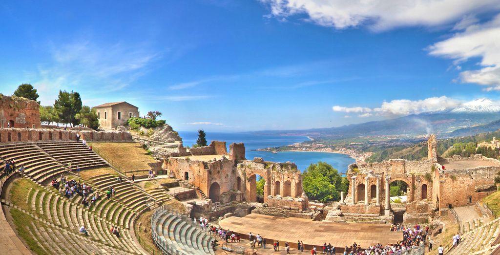 Fotografia di siti archeologici in Sicilia