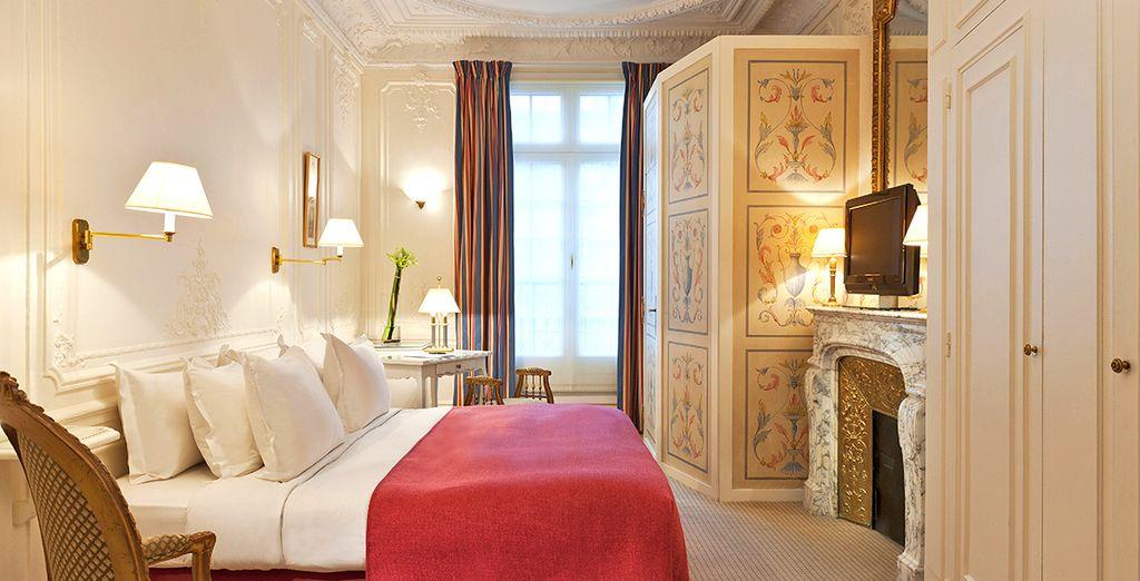 Una lussuosa vacanza nel Triangolo d'Oro di Parigi vi aspetta