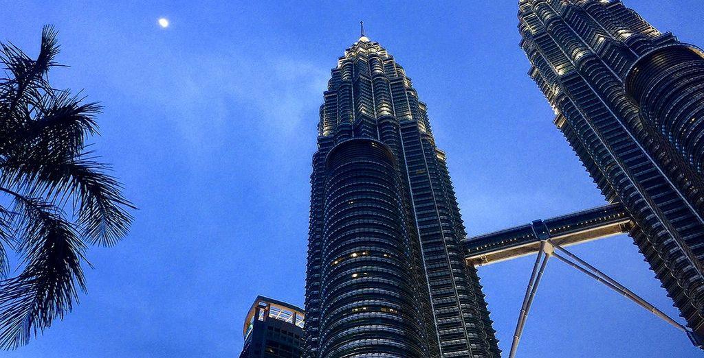e le famose Petronas Towers