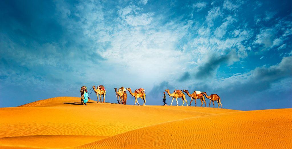 Deserto vicino a Dubai