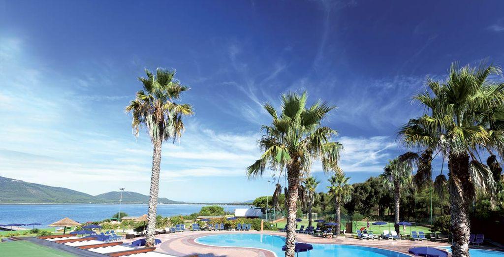 Godetevi una vista mozzafiato del nostro hotel in Sardegna