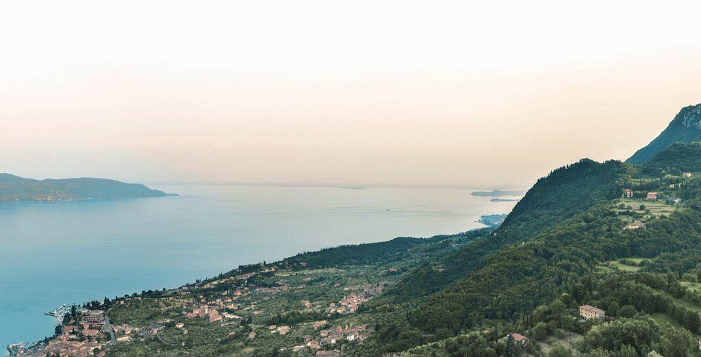 Fotografia del Lago di Garda in Italia