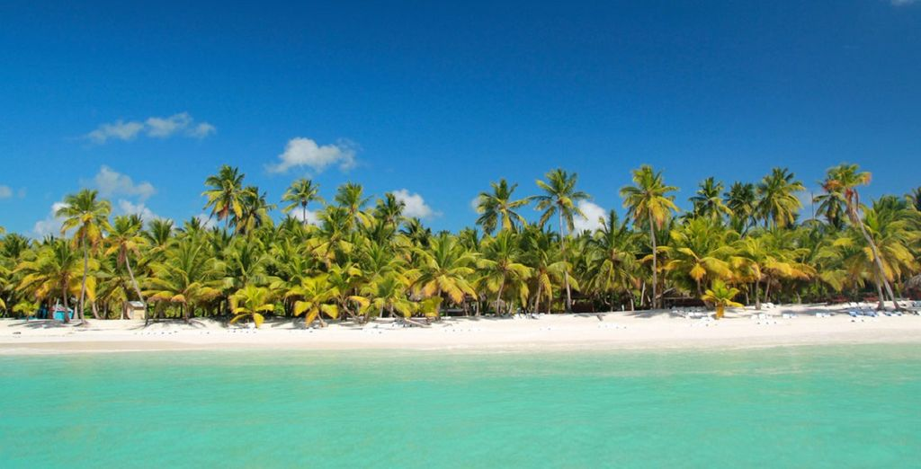 Paesaggi e spiagge di sabbia fine nella Repubblica Dominicana