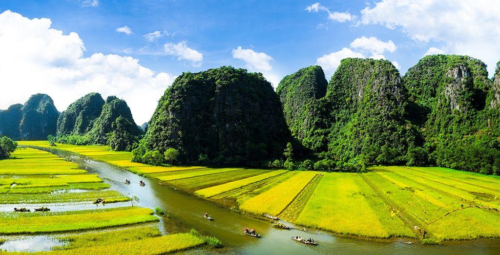 Maestosità di Ninh Binh