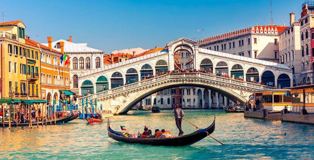 Canali della città di Venezia