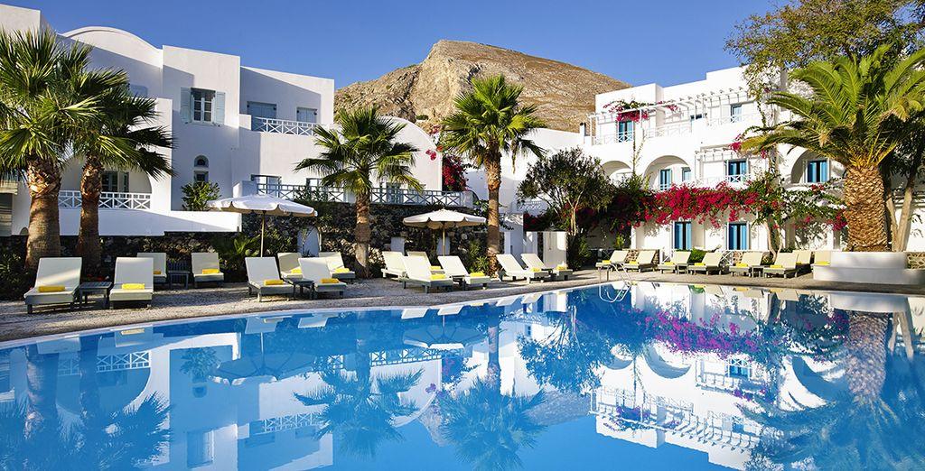 Santorini Kastelli Resort 5* - pacchetti vacanze santorini
