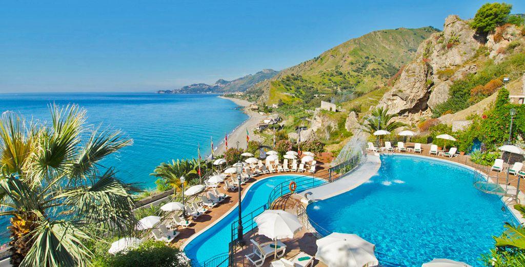 Baia Taormina Grand Palace Hotels & Spa 4* - hotel a taormina