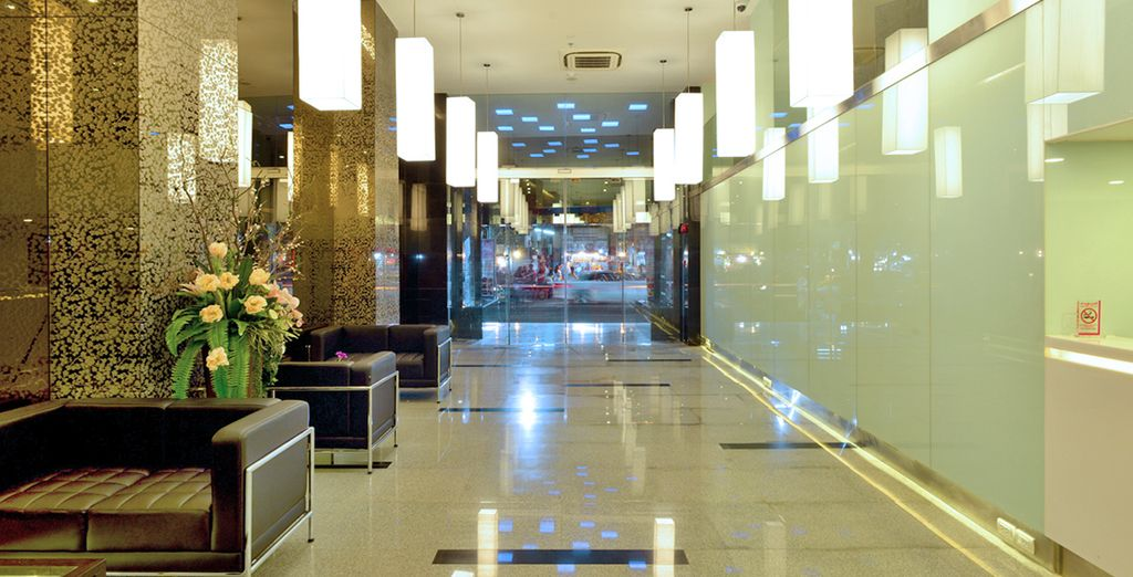 Moderno hotel 4* dal design elegante