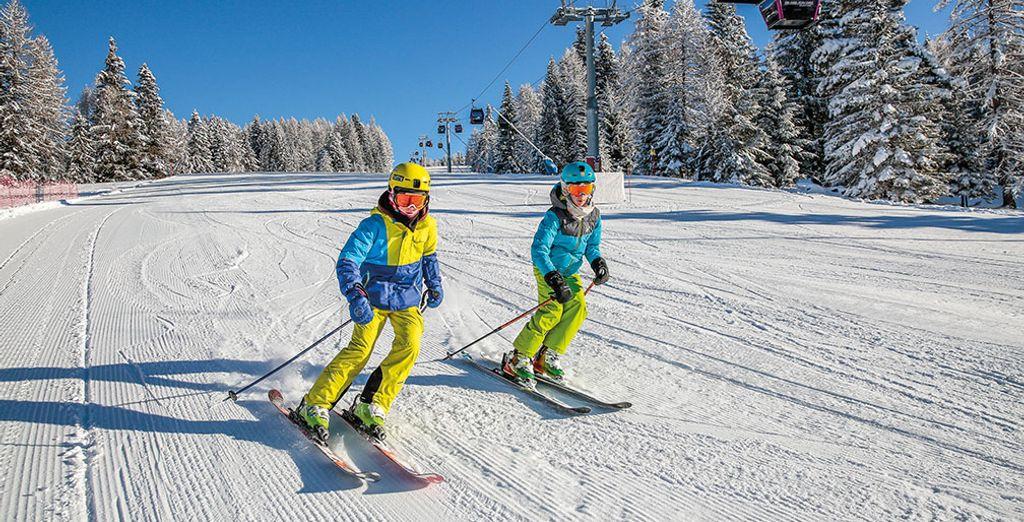 Preparatevi ad una splendida vacanza sulla neve