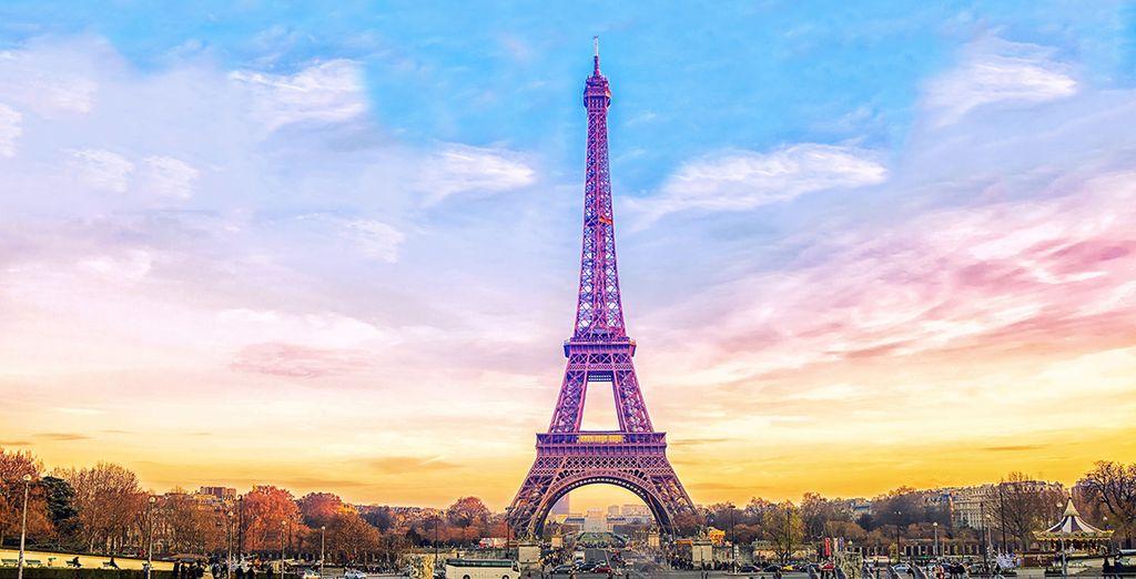 Un soggiorno a pochi passi dalla Tour Eiffel vi attende