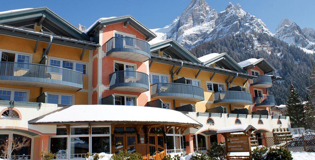 Lo Sporting Aparthotel vi attende tra le montagne del Trentino