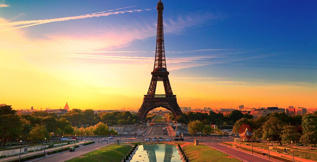 Qui troverete alcuni dei monumenti più famosi del mondo come la Tour Eiffel