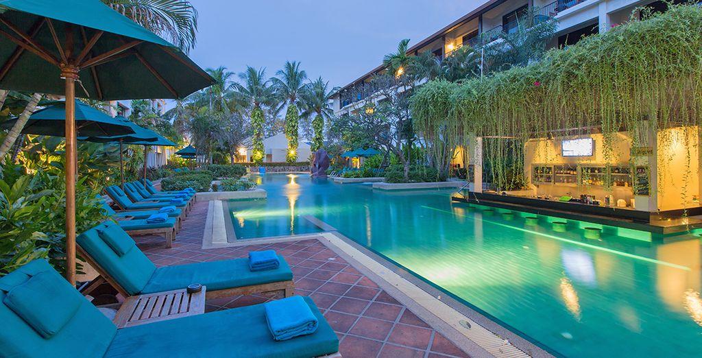 Dove soggiornerete al Banthai Beach Resort 4*