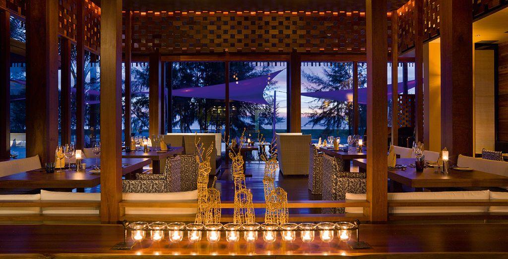 Il ristorante principale vi aspetta per farvi assaggiare piatti della cucina fusion thai