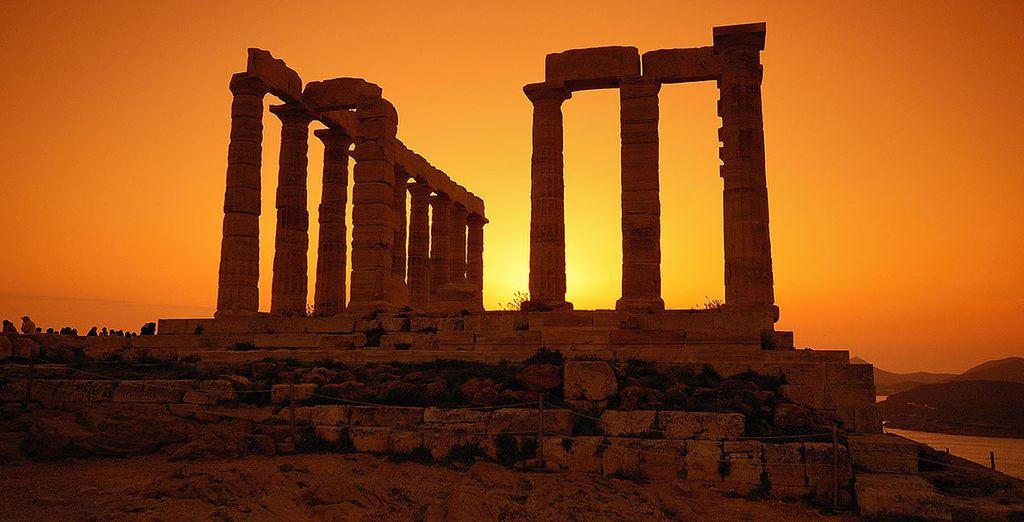 e ammirate l'imponenza dell'Acropoli