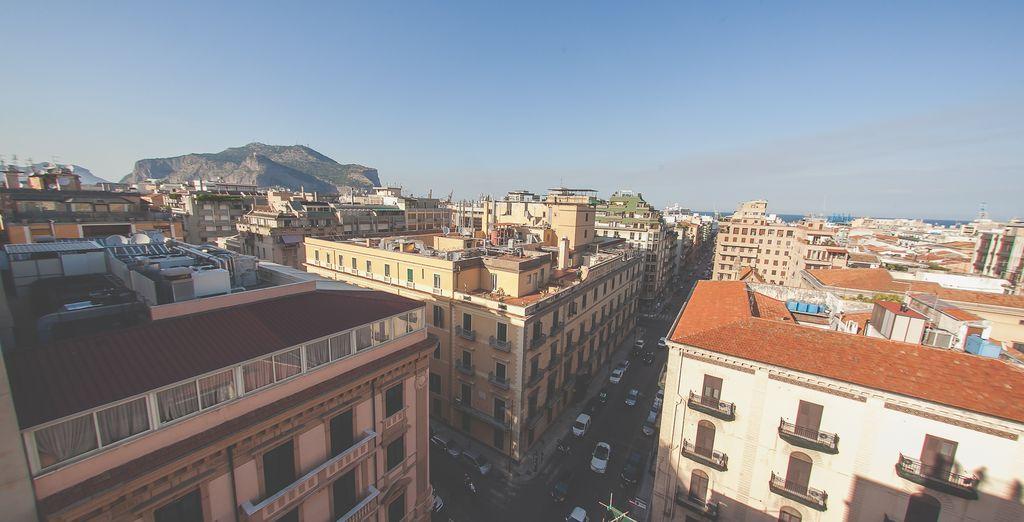 con indimenticabili panorami sulla città
