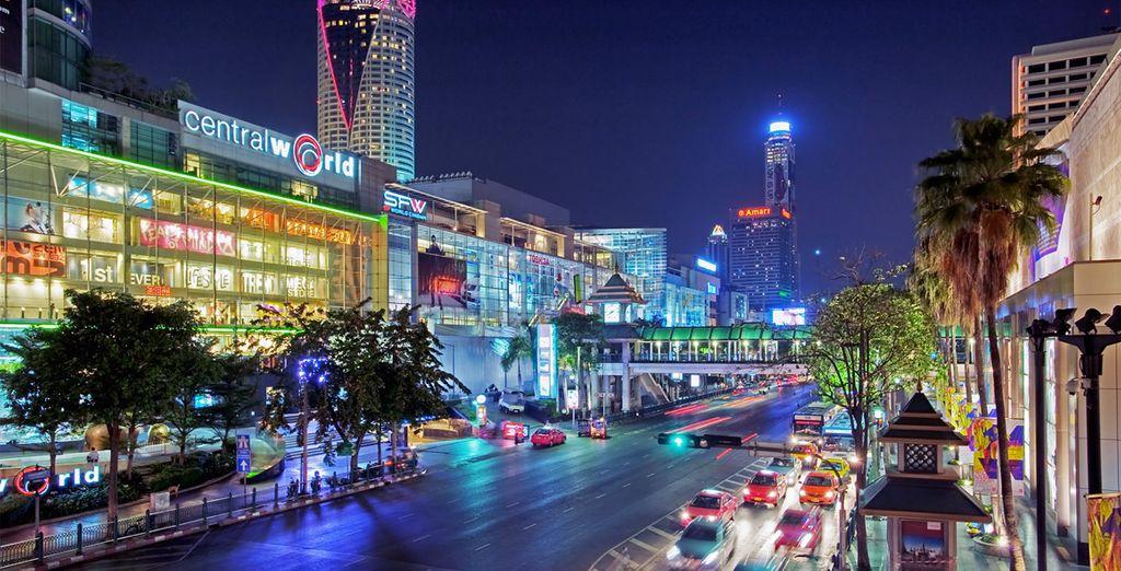 Fotografia della città di Bangkok in Thailandia