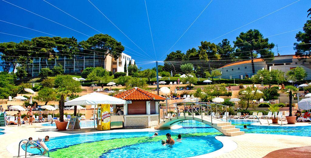 Approfittate della piscina per il vostro relax