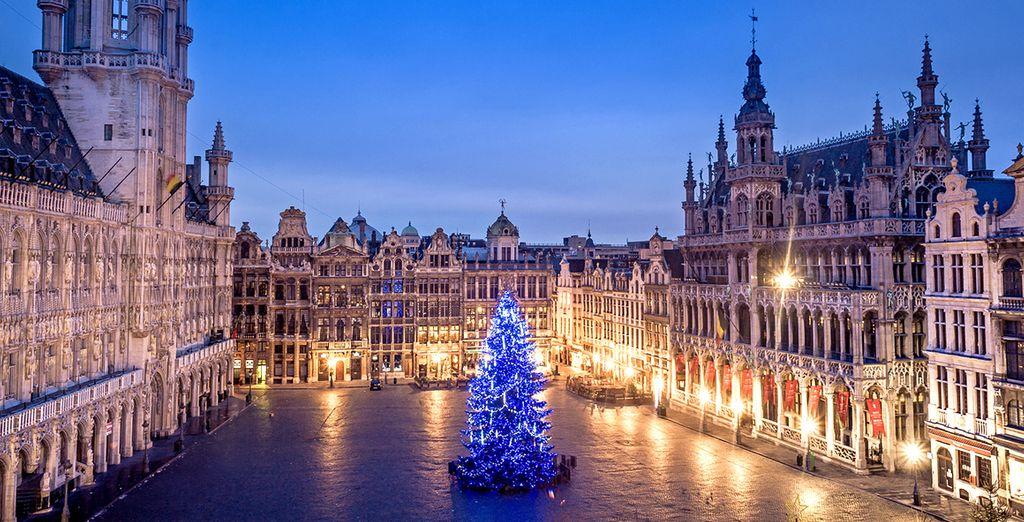 Godetevi le suggestive atmosfere di Bruxelles