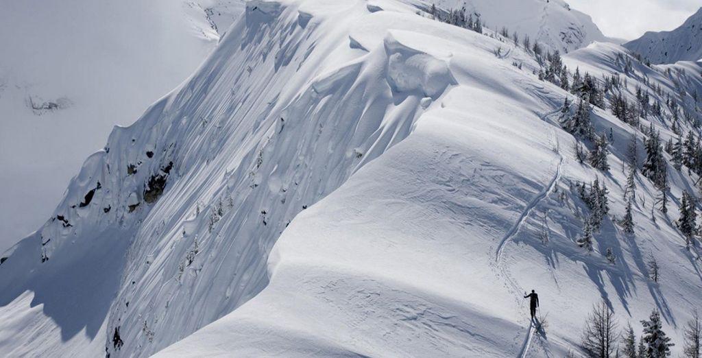 per trascorrere incredibili giornate sulla neve.
