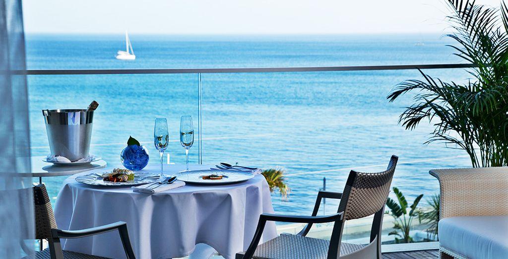 Pronti per un meraviglioso panorama sull'Oceano?