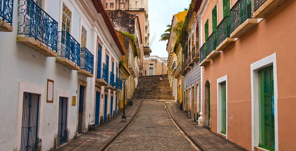 Alla fine del tour visiterete São Luis dove scoprirete la sua anima vivace