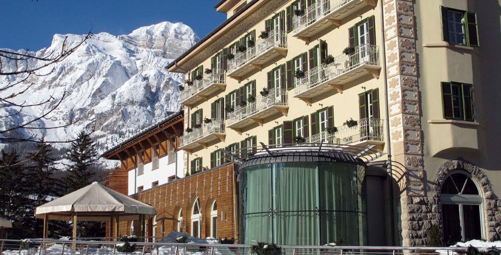Una vacanza di lusso, in un hotel incantevole ed elegante