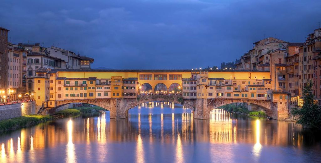 E partite alla scoperta delle infinite bellezze di Firenze, dalla privilegiata posizione dell'hotel.